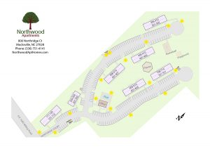 Northwood Apartments Site Map
